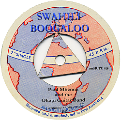 swahili boogaloo CD 250